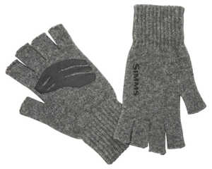 Bild på Simms Wool Half Finger Glove Steel S/M