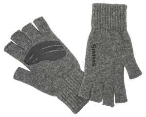 Bild på Simms Wool Half Finger Glove Steel L/XL