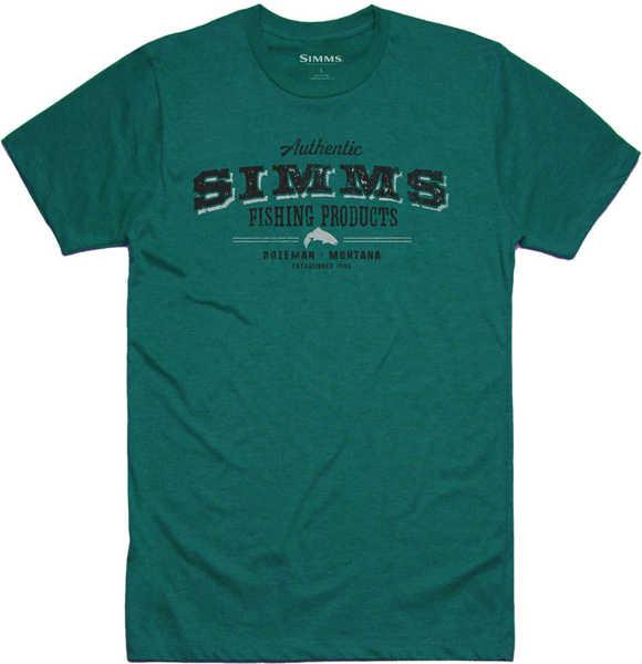 Bild på Simms Working Class T-Shirt Dark Teal Heather