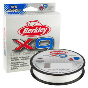 Bild på Berkley X9 Crystal 150m 0,25mm / 27,0kg