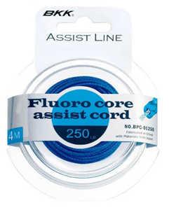Bild på BKK Fluoro Core Assist Cord 140lb (5 meter)