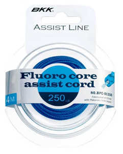 Bild på BKK Fluoro Core Assist Cord 250lb (4 meter)