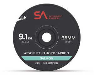 Bild på Scientific Anglers Absolute Fluorocarbon Salmon Tippet (30m) 0,38mm