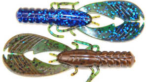 Bild på X Zone Lures Muscle Back Finesse Craw 8,5cm (8 pack) Okeechobee Craw