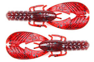 Bild på X Zone Lures Muscle Back Finesse Craw 8,5cm (8 pack) Red Bug