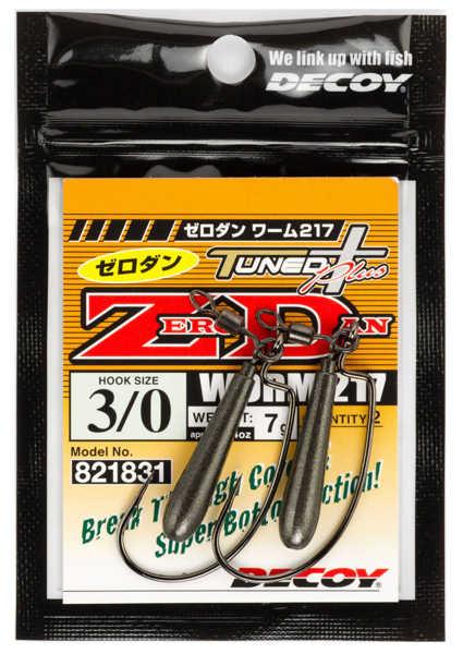 Bild på Decoy Zero-Dan Worm217 #4/0 7g (2 pack)