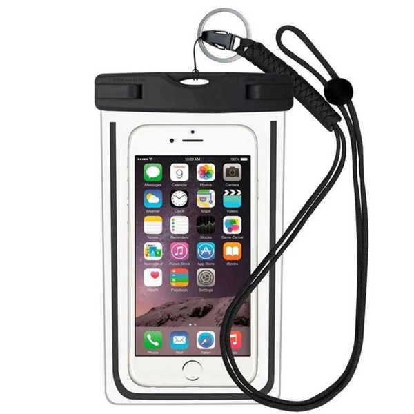 Bild på Vattentät Pouch för Smartphone Svart