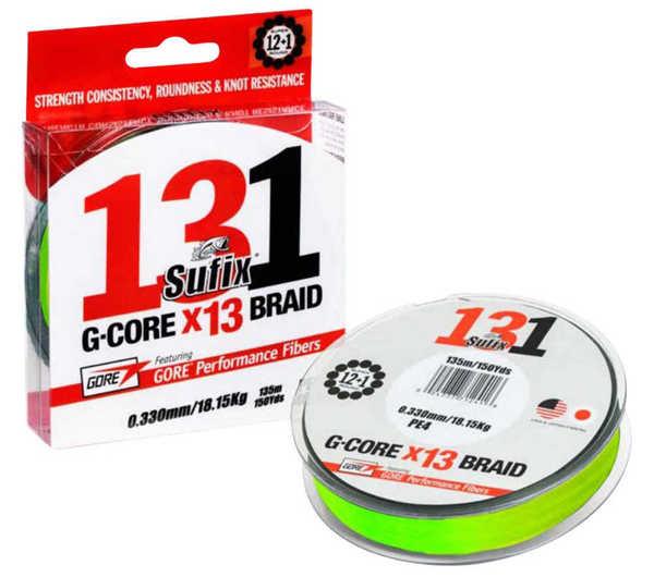 Bild på Sufix 131 G-Core X13 Neon Chartreuse 150m