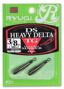 Bild på Ryugi DS Heavy Delta Tungsten Sinker (1-3 pack) 17,5 gram (2 pack)