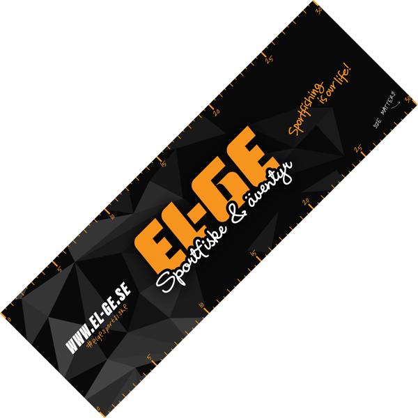 Bild på Mätdekal EL-GE (30cm)
