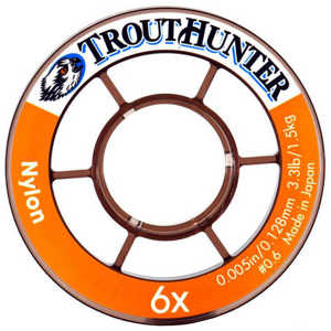 Bild på Trout Hunter Nylon Tippet 8X 0,090mm / 0,8kg