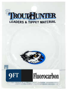 Bild på Trout Hunter Fluorocarbon Leader 9ft 02X / 0,330mm